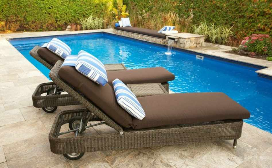 Maryland Ingroud Pool Builders Lounge Pillows