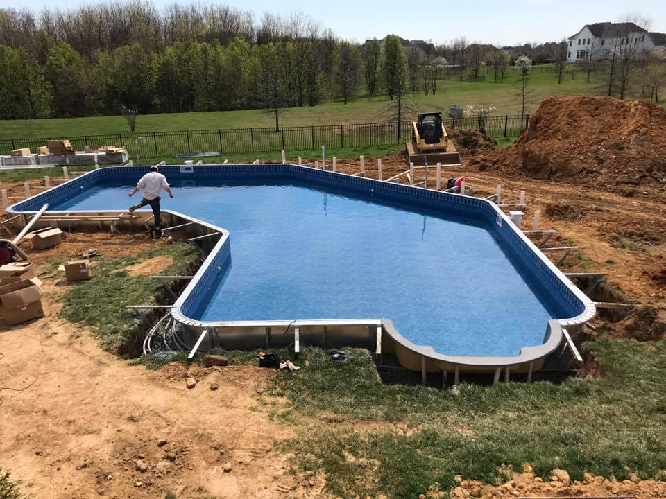 Woodfield Residential Pool Construction Landscape