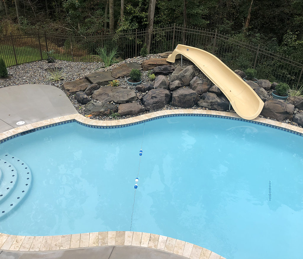 Pool With Slide