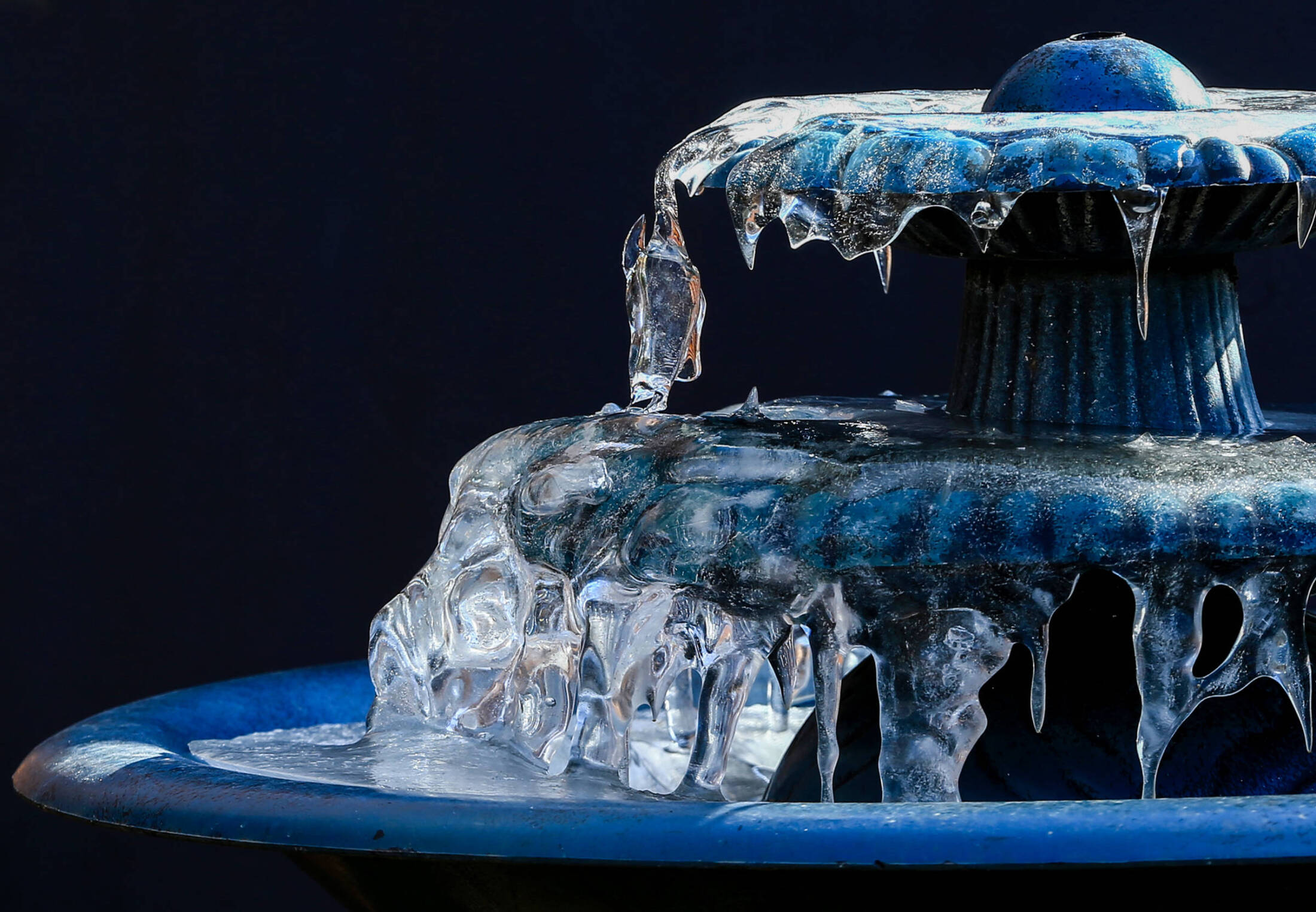 Winterizing Your Water Features