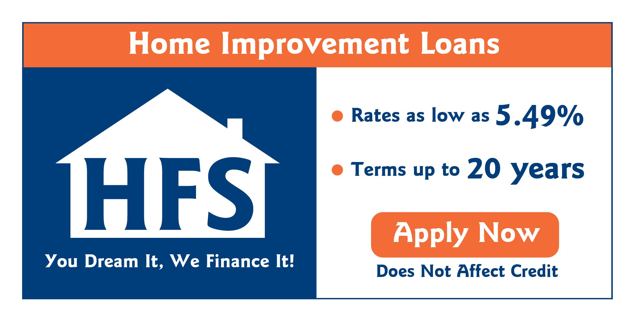 hfs improvement loans