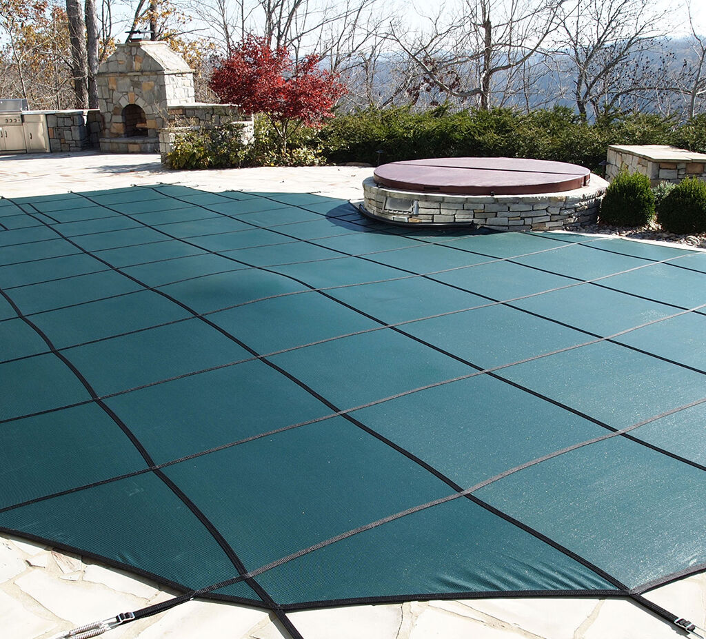 Outdoor Pool Cover Green
