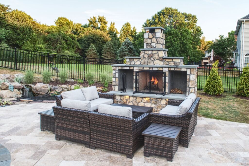 Outdoor Fireplace Harford County