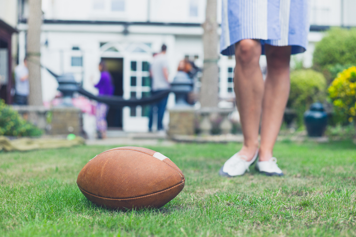 Outdoor Living For Football Fans